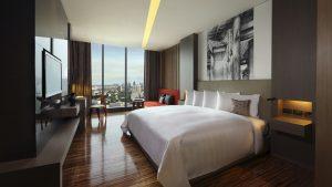 SO Cozy Wood Element Room City View Bangkok - SO Sofitel Bangkok