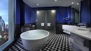 SO Suite Earth Element Park View Suite Bathroom Bangkok - SO Sofitel Bangkok