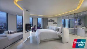 SO Lofty Metal Element Park View Suite Bangkok Union Pay - SO Sofitel Bangkok