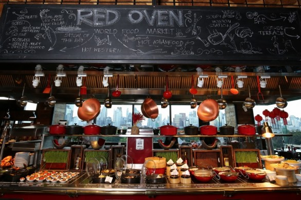 Pleasing Best Hotel Buffet In Bangkok Red Oven Restaurant So Home Interior And Landscaping Ologienasavecom