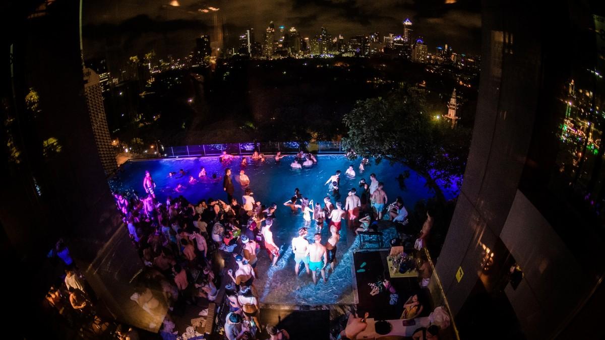 best pool party bangkok