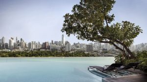 Infinity Pool in Bangkok, SO Sofitel Bangkok