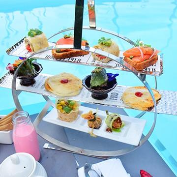Floating Afternoon Tea