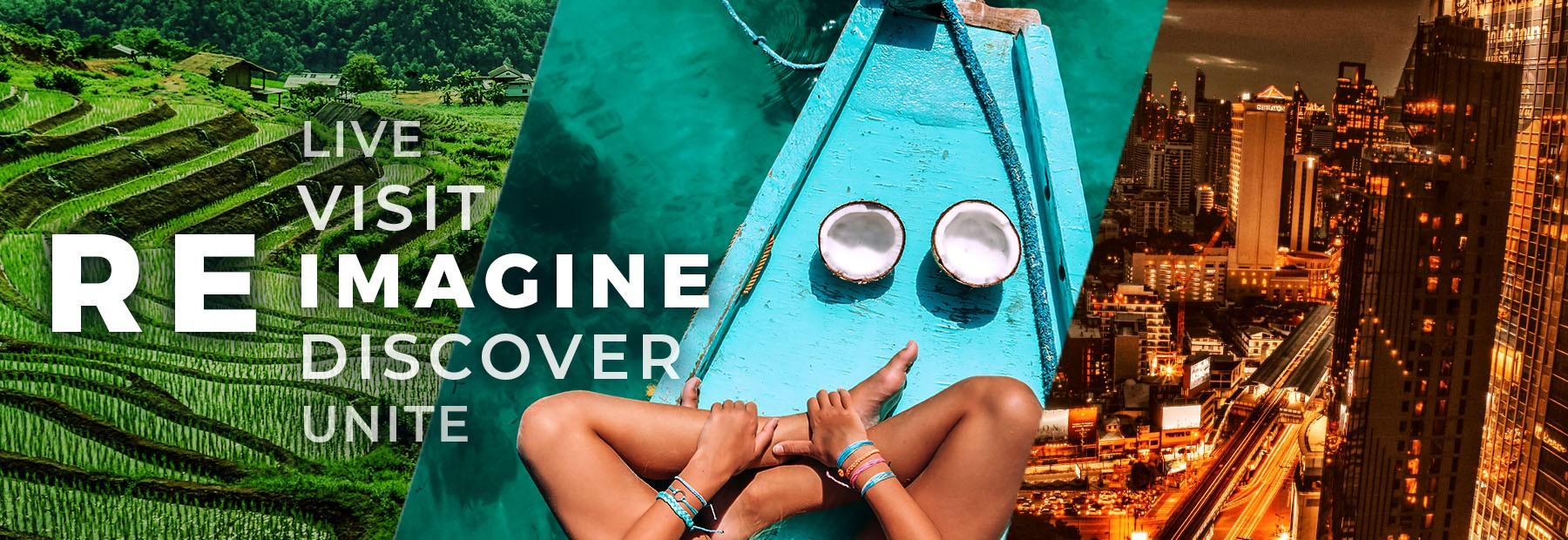 ส่วนลดห้องพัก 30%- Reimagine Thailand