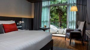 Bangkok City Hotel Deluxe Balcony Room