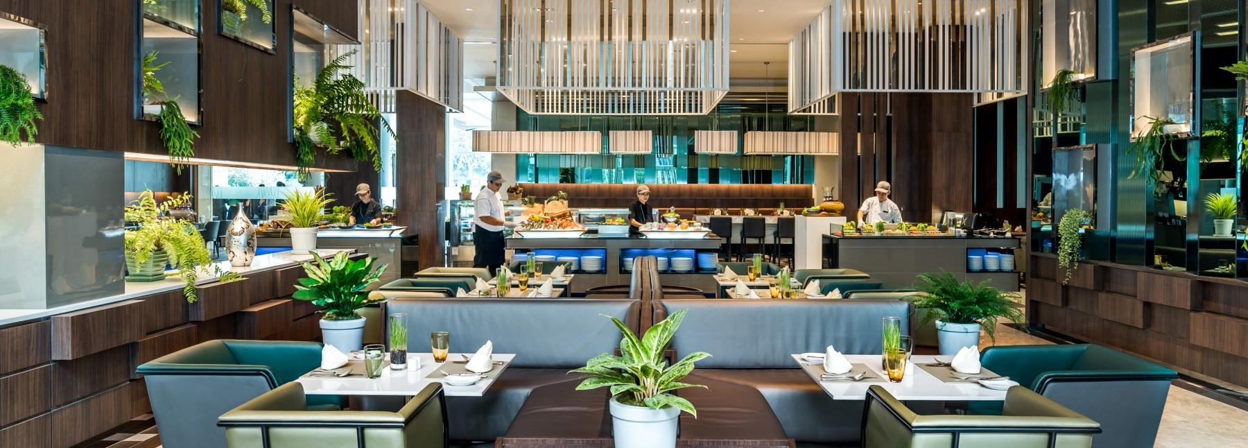 Best Hotel Buffet In Bangkok Pullman Bangkok Kingpower