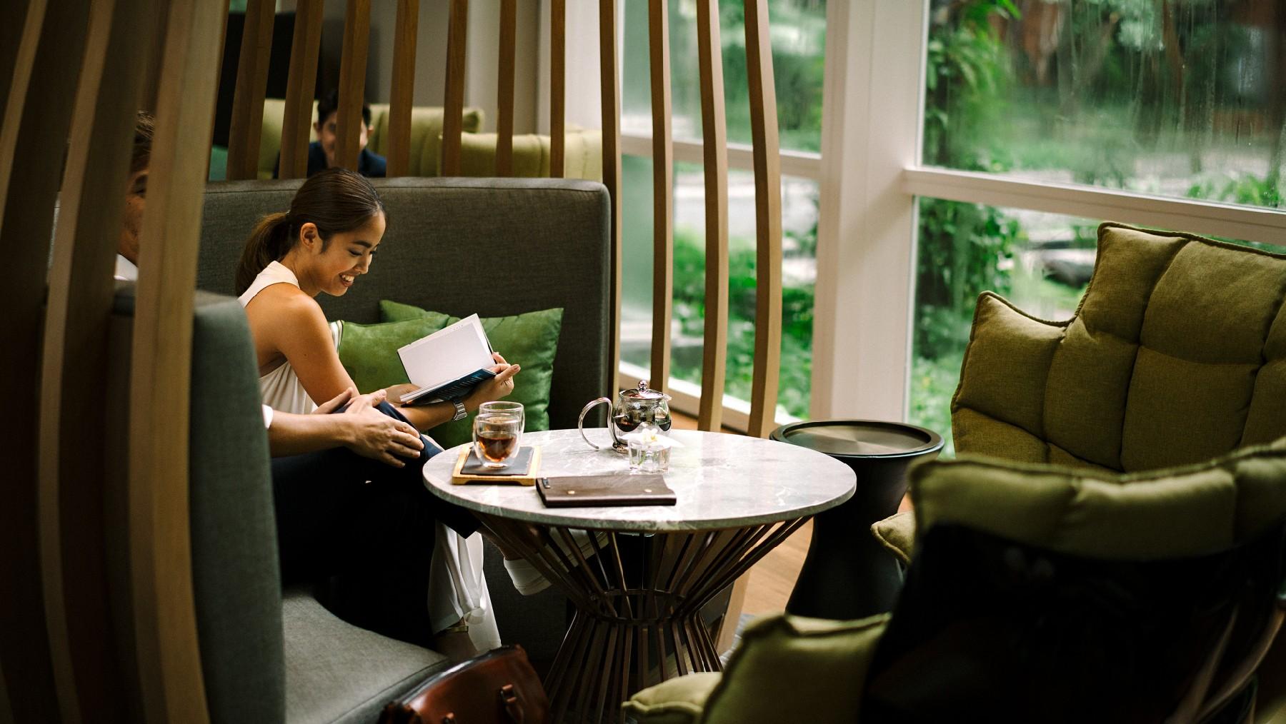 Afternoon tea in Bangkok