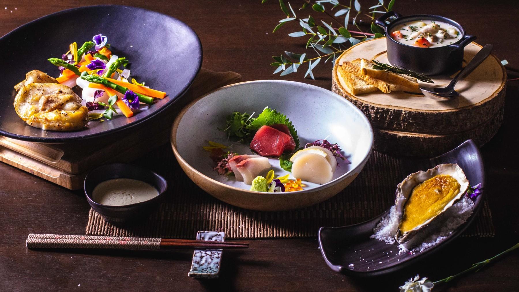 Japanese dinner set