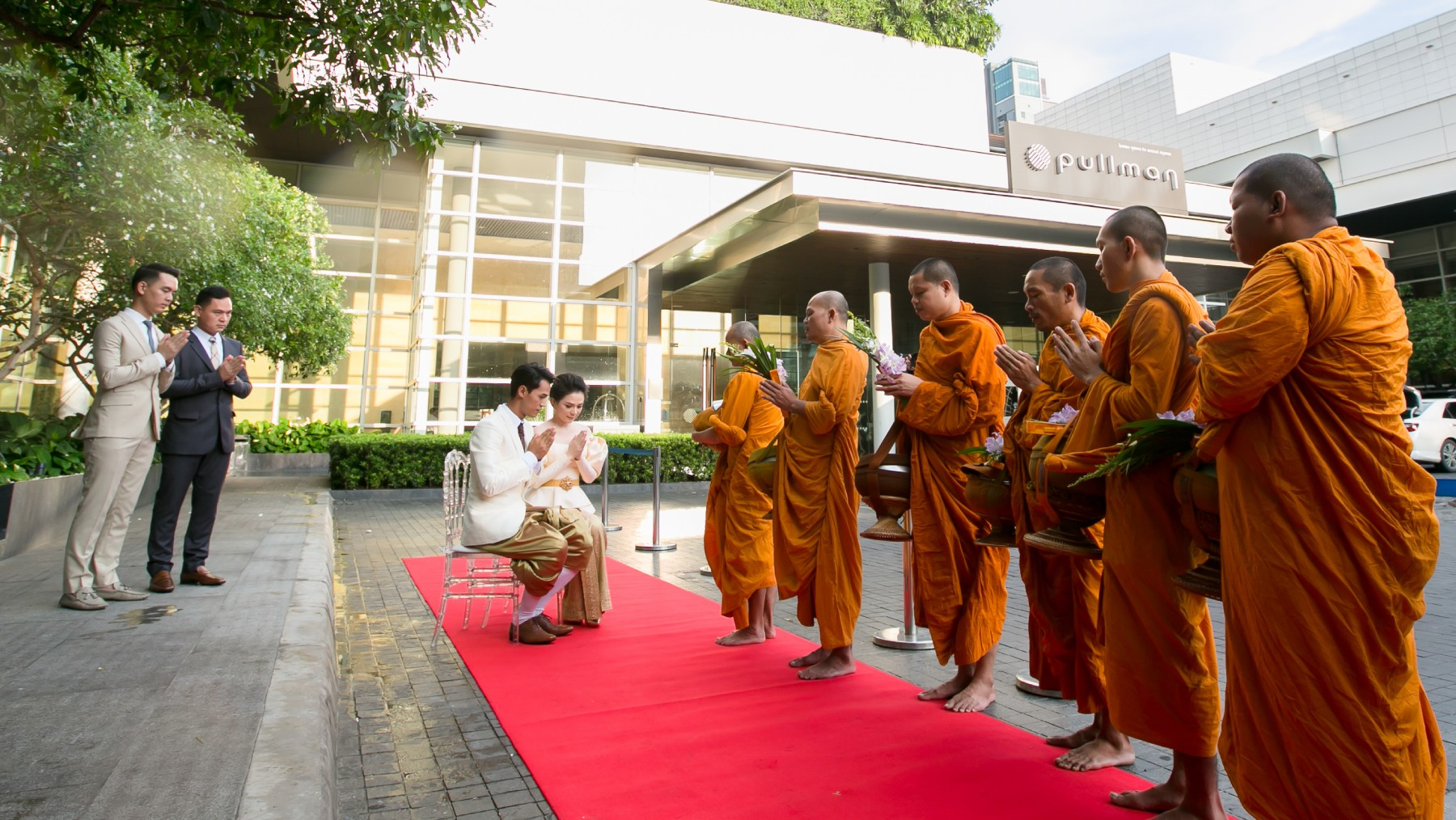 Engagement Packages, Monk Ceremony