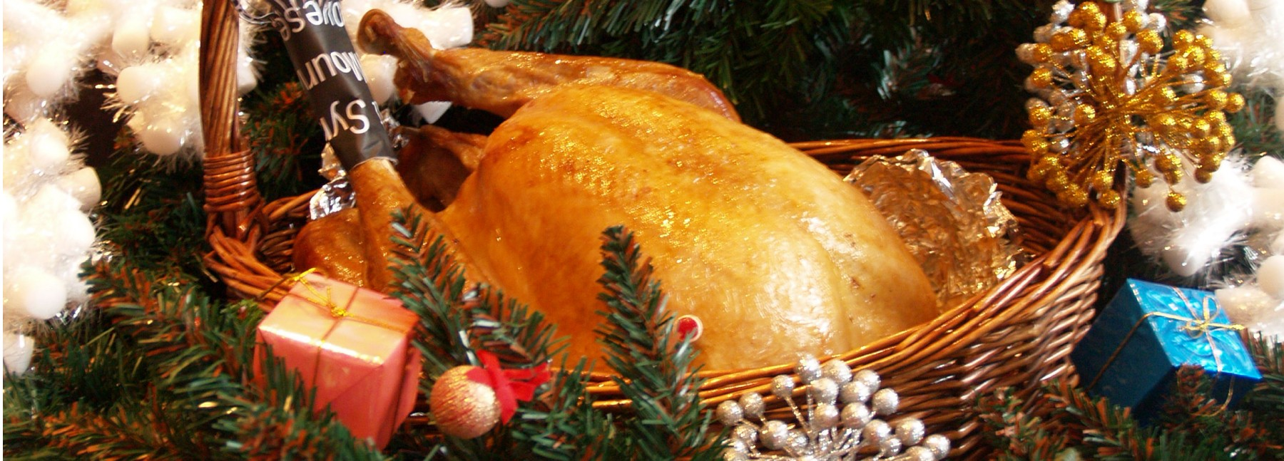 Christmas restaurant promotion