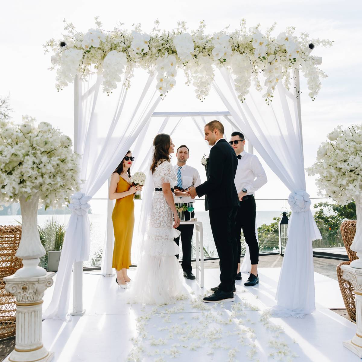 Luxury wedding at Novotel Phuket Kamala Beach