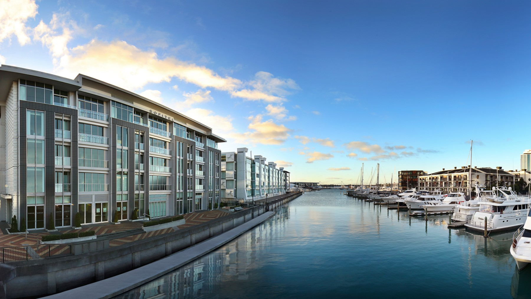 Sofitel Auckland Viaduct Harbour - Live the French Way