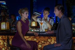 Enjoy an unforgettable evening at our rooftop bar in Bangkok