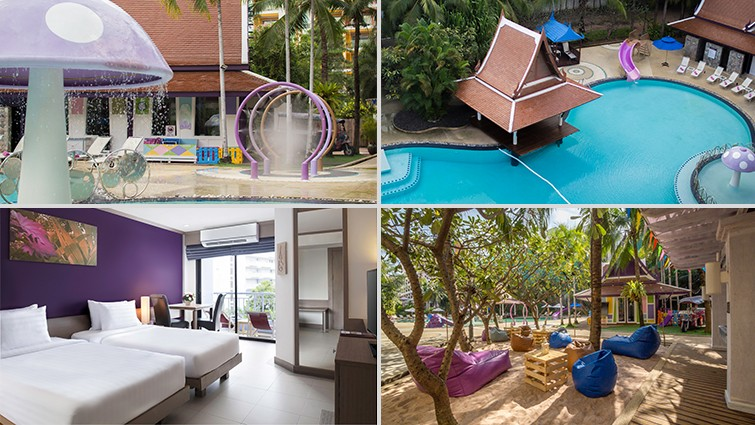 Family hotel stays in Pattaya