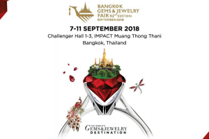 Bangkok Gems and Jewelry Fair 2018