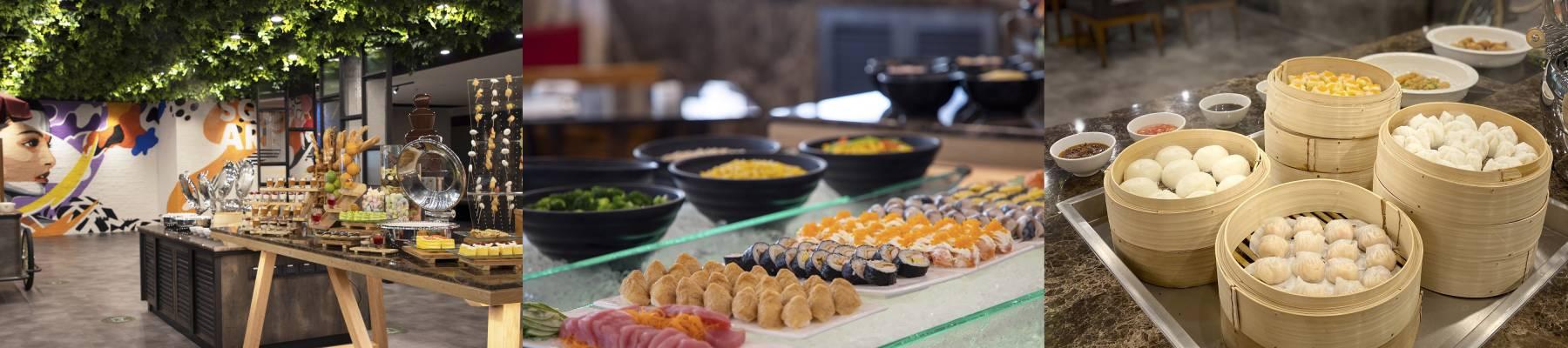 โปรโมชั่นบุฟเฟ่ต์มื้อกลางวันในกรุงเทพ