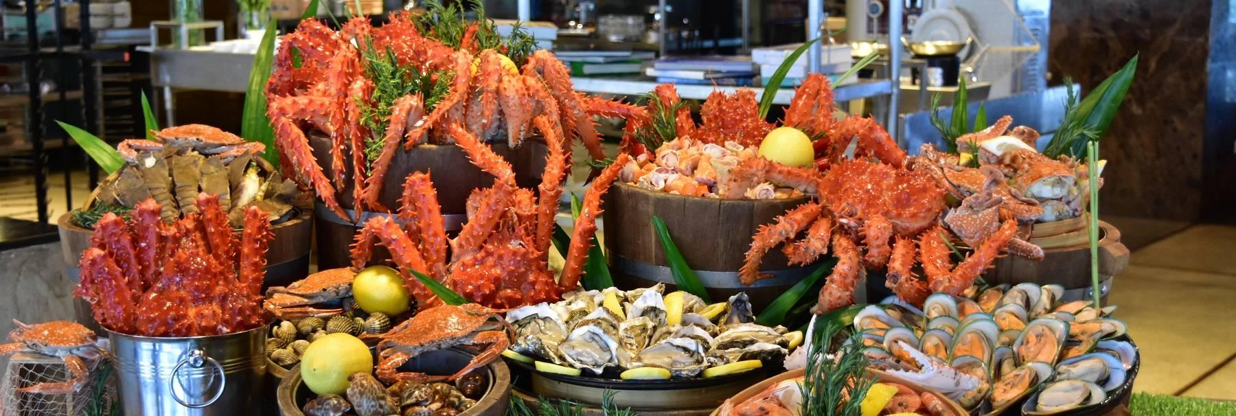 Crab Buffet in Bangkok | Novotel Bangkok on Siam Square