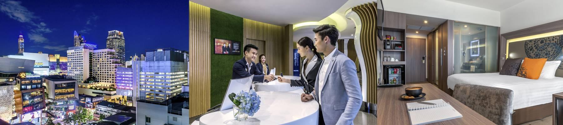 โรงแรมที่ดีที่สุดในกรุงเทพ