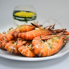River Prawn & Salmon Dinner Buffet