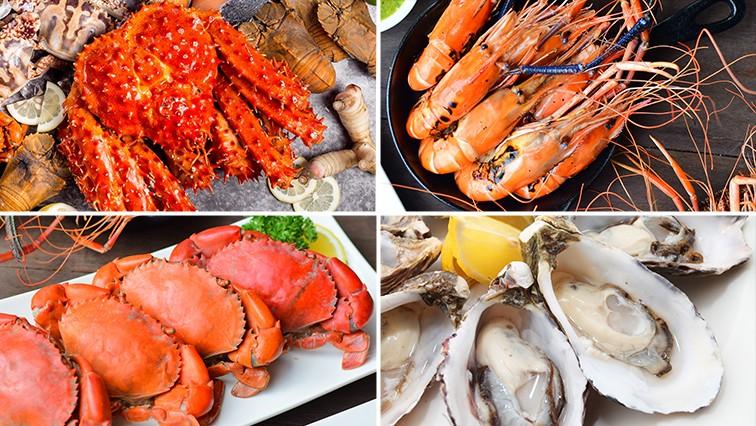 seafood buffet of Bangkok Hotel Promotion