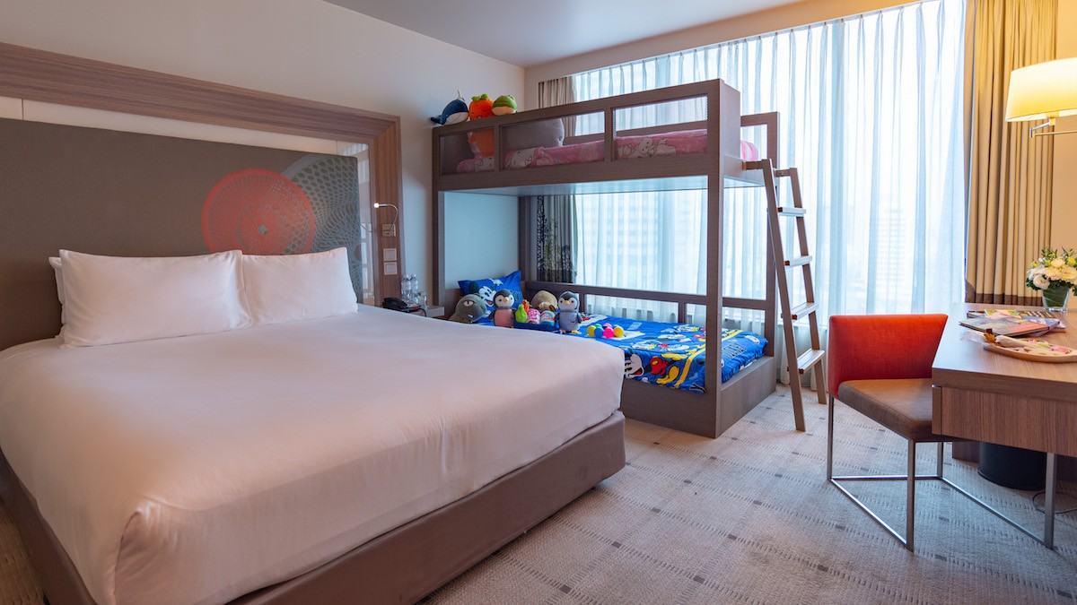 Family room of Bangkok Hotel Deals
