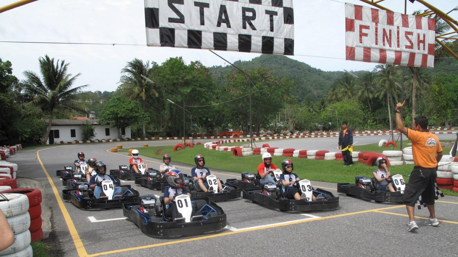 Patong Go Kart Phuket Novotel Phuket Karon Beach Resort And Spa