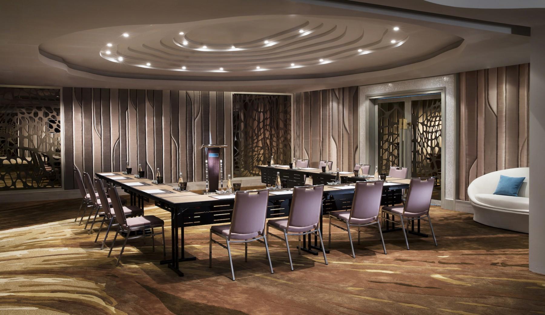 3d Render Of Luxury Meeting Space Stock Illustration ...  Luxury Meeting Space