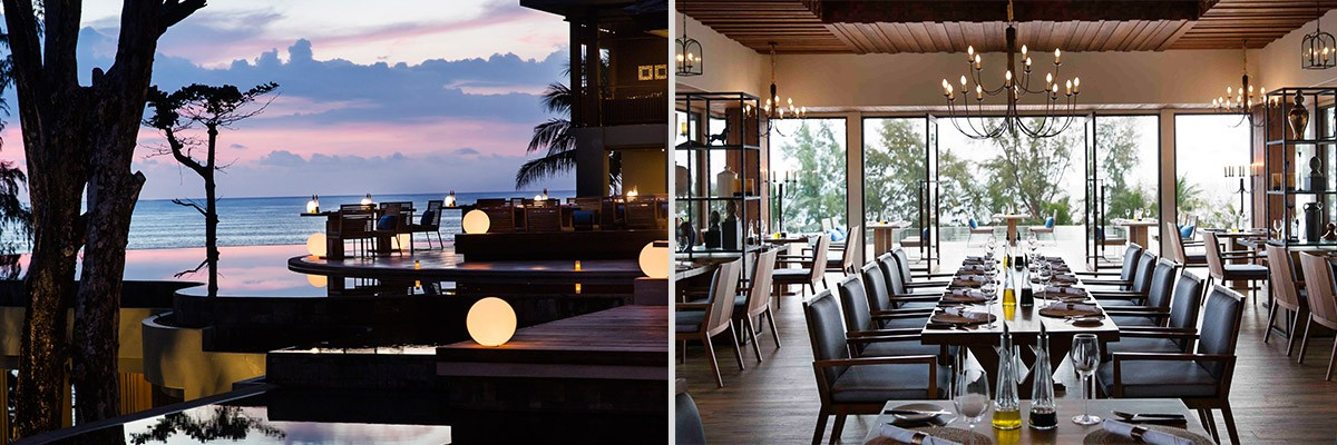 luxury resort in Phuket dining