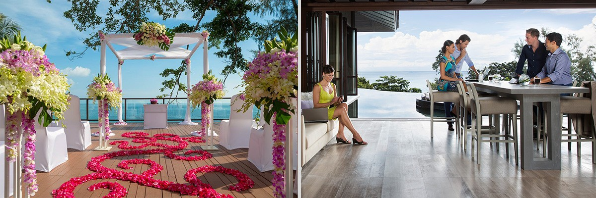 luxury resort in Phuket weddings