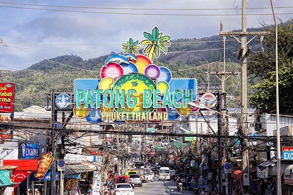 Freedom Beach in Phuket