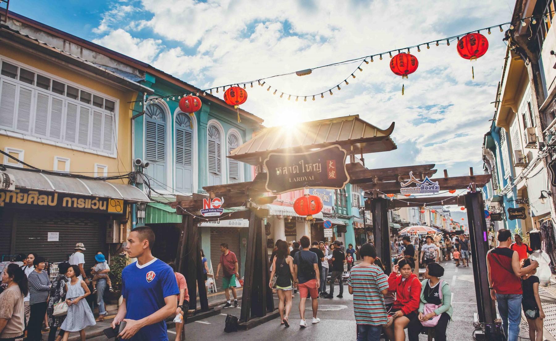 Phuket Town Walking Street Market