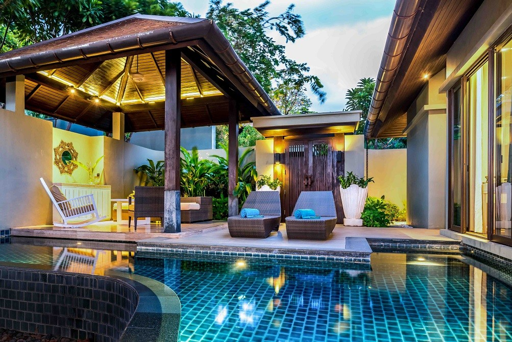 Luxury Phuket resort with pool villa