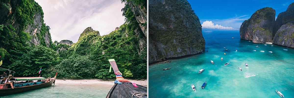 Maya Bay and Phi Phi Island
