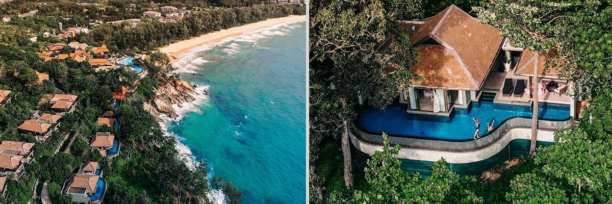 Phuket villas in Thailand views