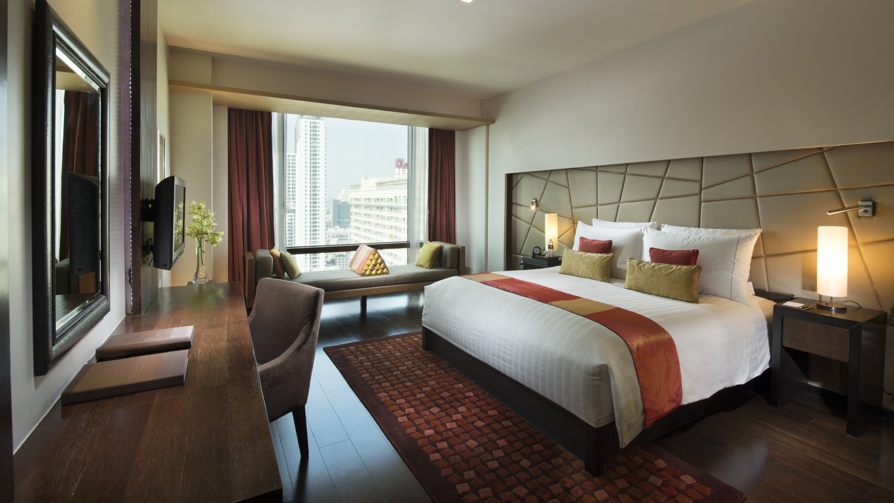 Deluxe Room Vie Hotel Bangkok Mgallery Hotel Collection