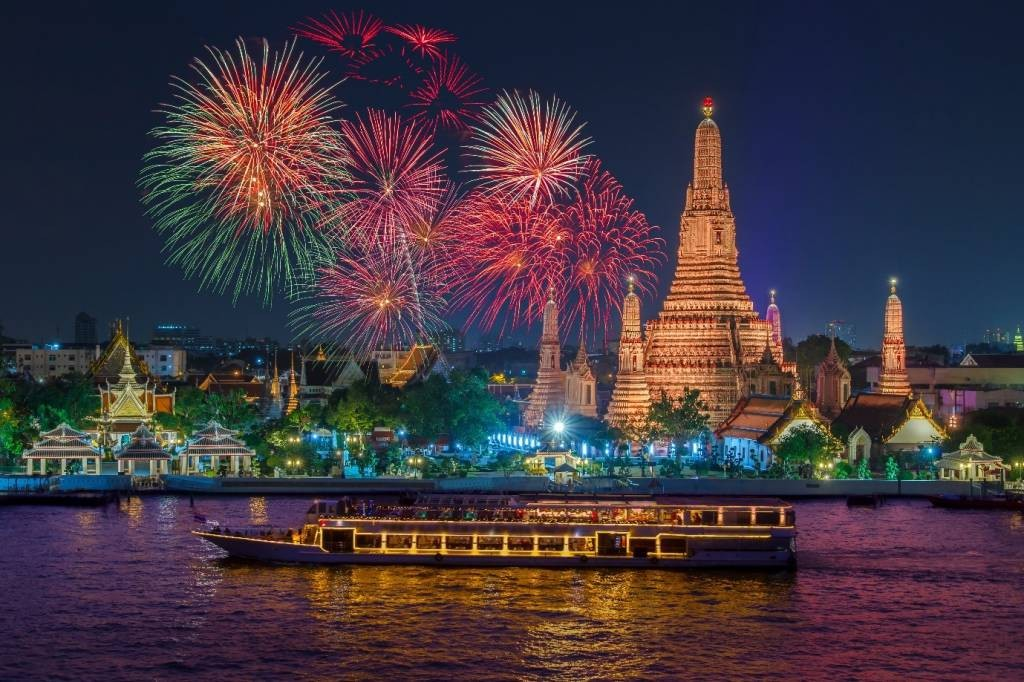 New Year Countdown in Bangkok