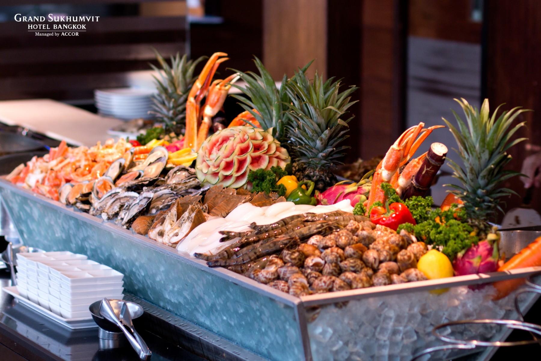 Seafood Buffet Dinner Grand Sukhumvit Hotel Bangkok