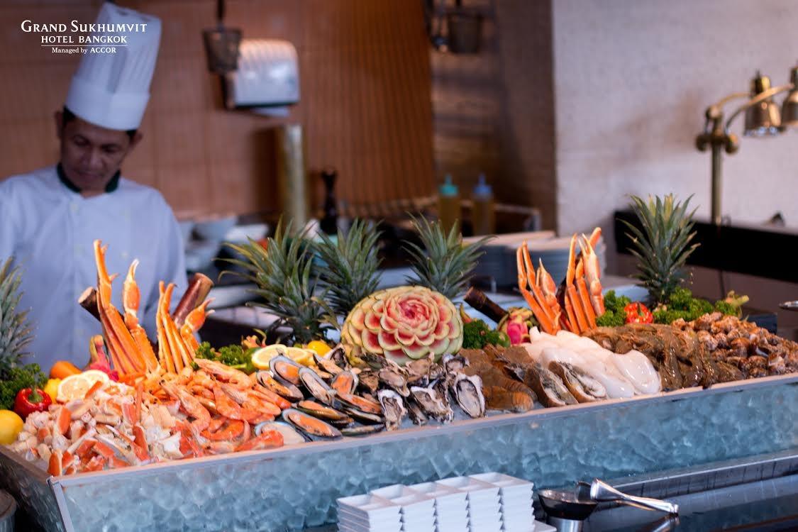 Seafood Buffet Review Grand Sukhumvit Hotel Bangkok