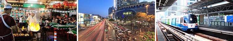 Shop and Explore Bangkok