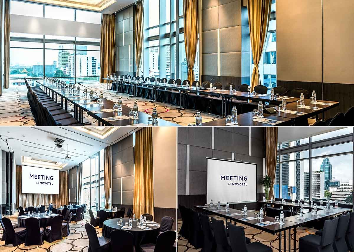 Meeting rooms in Bangkok, Novotel Bangkok Ploenchit Sukhumvit