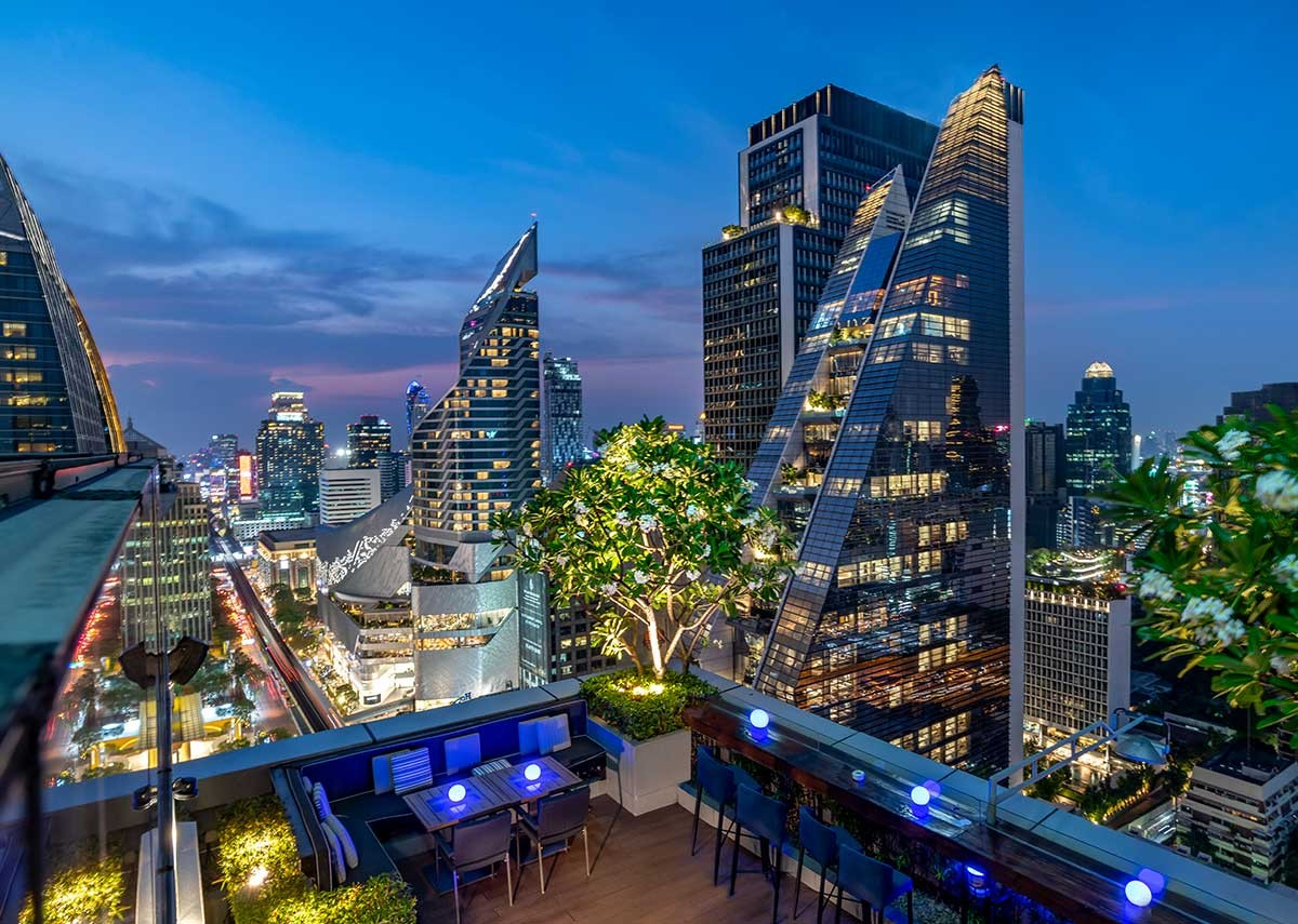roof top in Bangkok