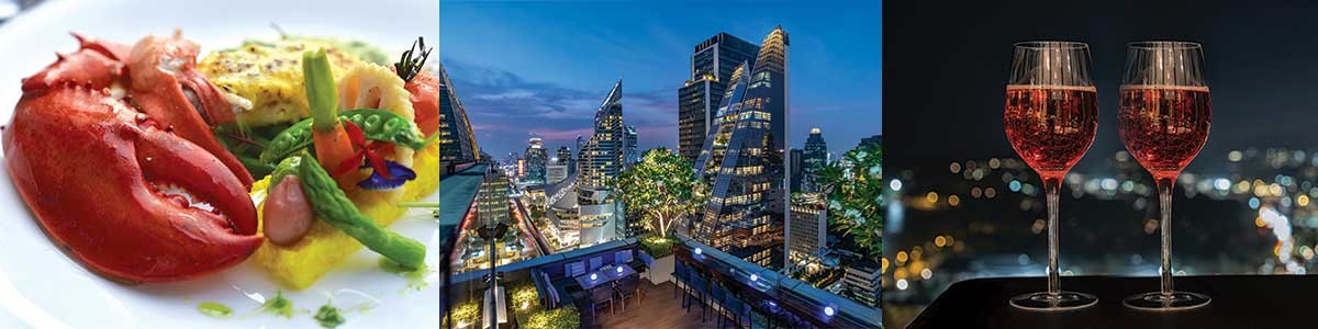 Valentine's Day Promotion 2020 on Bangkok rooftop bar