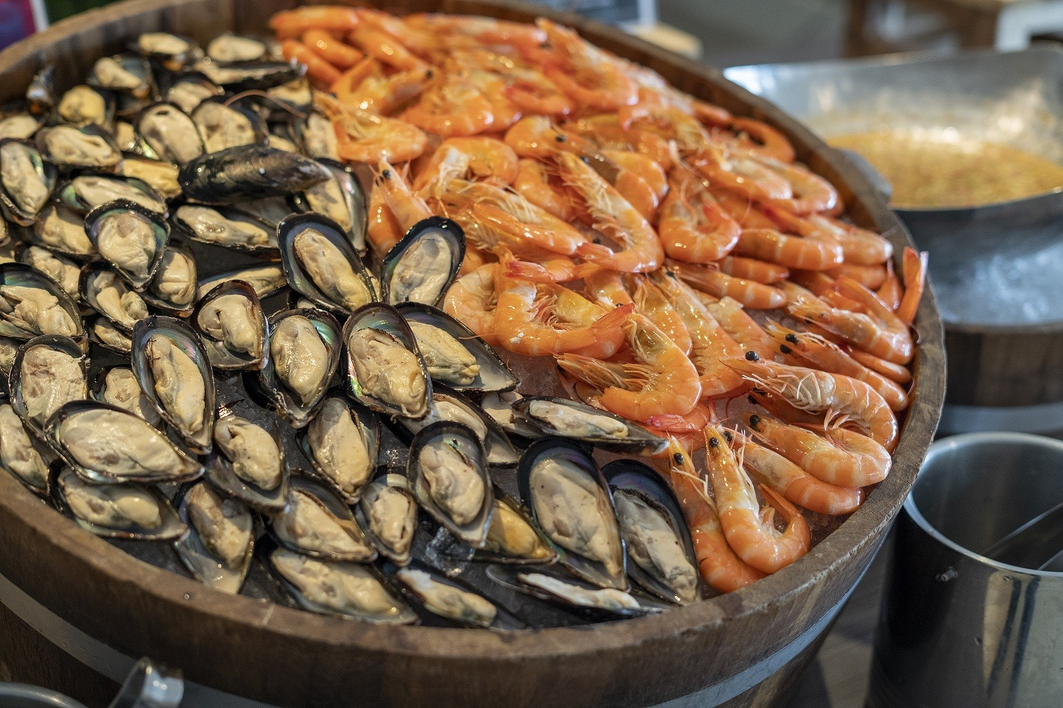 Recommended River Prawn Dinner Buffet in Bangkok