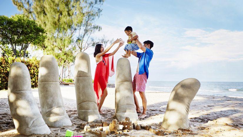 family-beach-escape