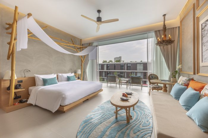 rooms and villas at SO Sofitel Hua Hin