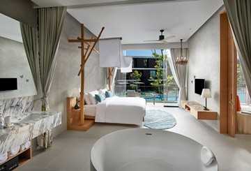 SO Family Suite master bedroom
