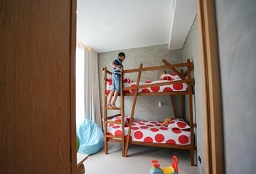 SO Family Suite kids room