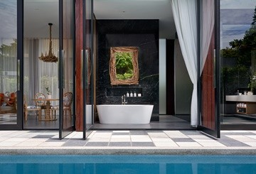 Hua Hin Pool Villa - SO Pool Villa bathroom