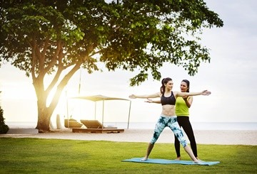 SO Sofitel Hua Hin - Yoga on the beach