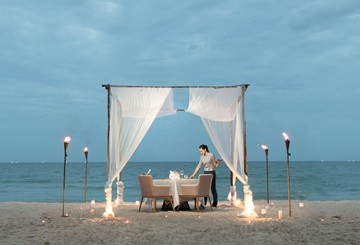 SO Sofitel Hua Hin - Beach Dinner